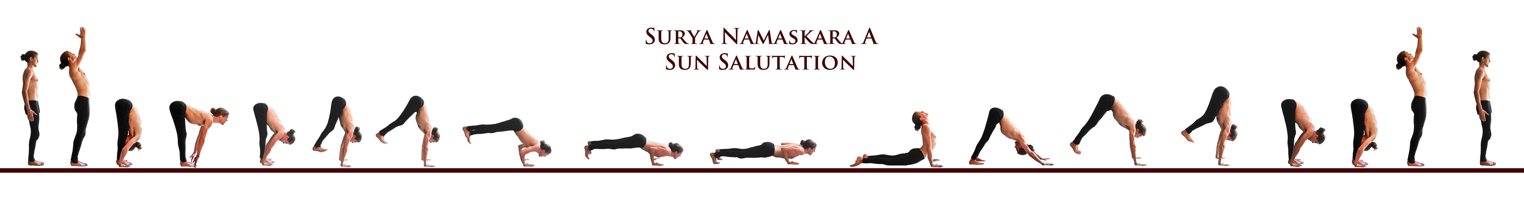Sun Salutation Surya Namaskara A