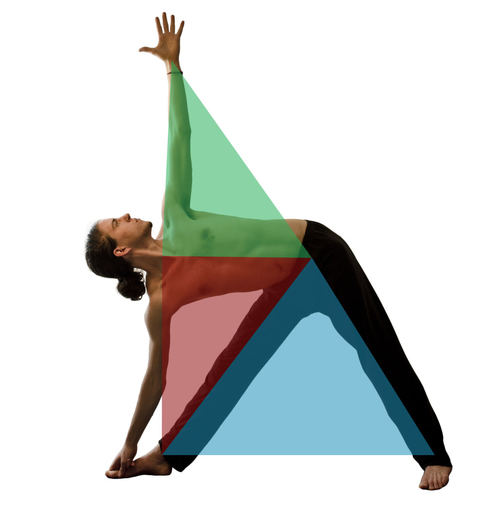 trikonasana triangles