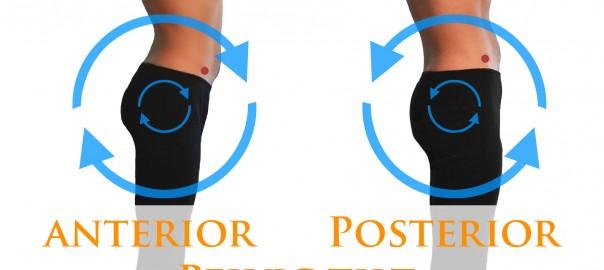 Pelvic Tilt - anterior and posterior