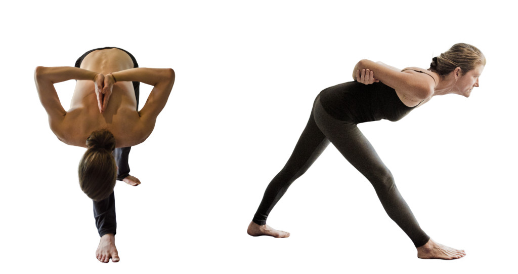 Parsvottanasana both